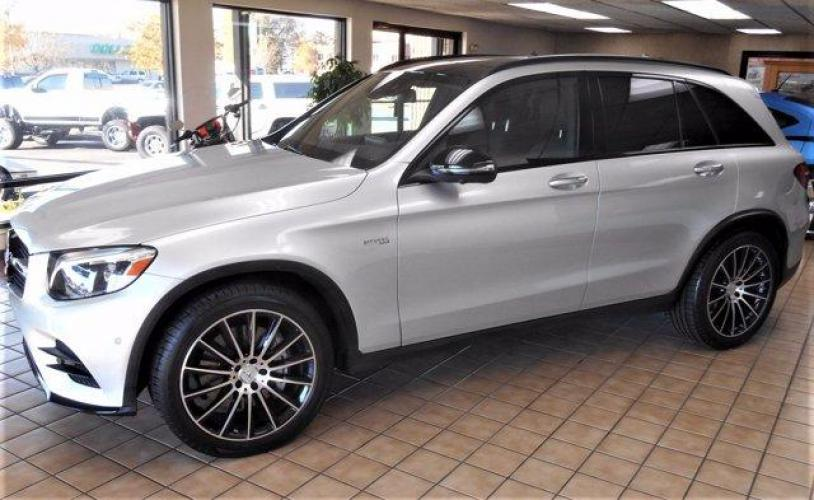2018 Diamond Silver Metallic /Black Mercedes-Benz GLC (WDC0G6EB5JV) with an 6 3.0 L engine, Automatic transmission, located at 3240 Washington Blvd., Ogden, UT, 84401, (801) 621-7177, 41.204967, -111.969994 - Photo #1